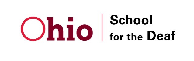 Red Ohio logo for the School for the Deaf